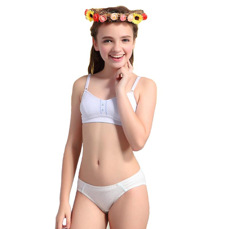 bra Young teen girl