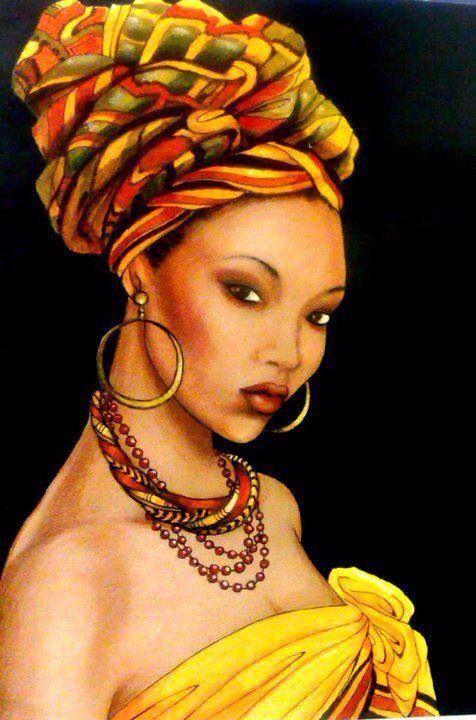 african art Beautiful