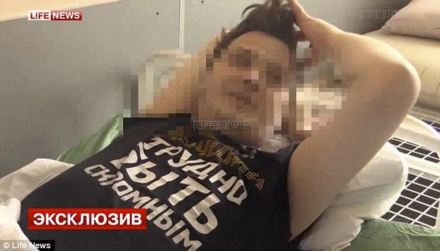 Russian blonde teen rough