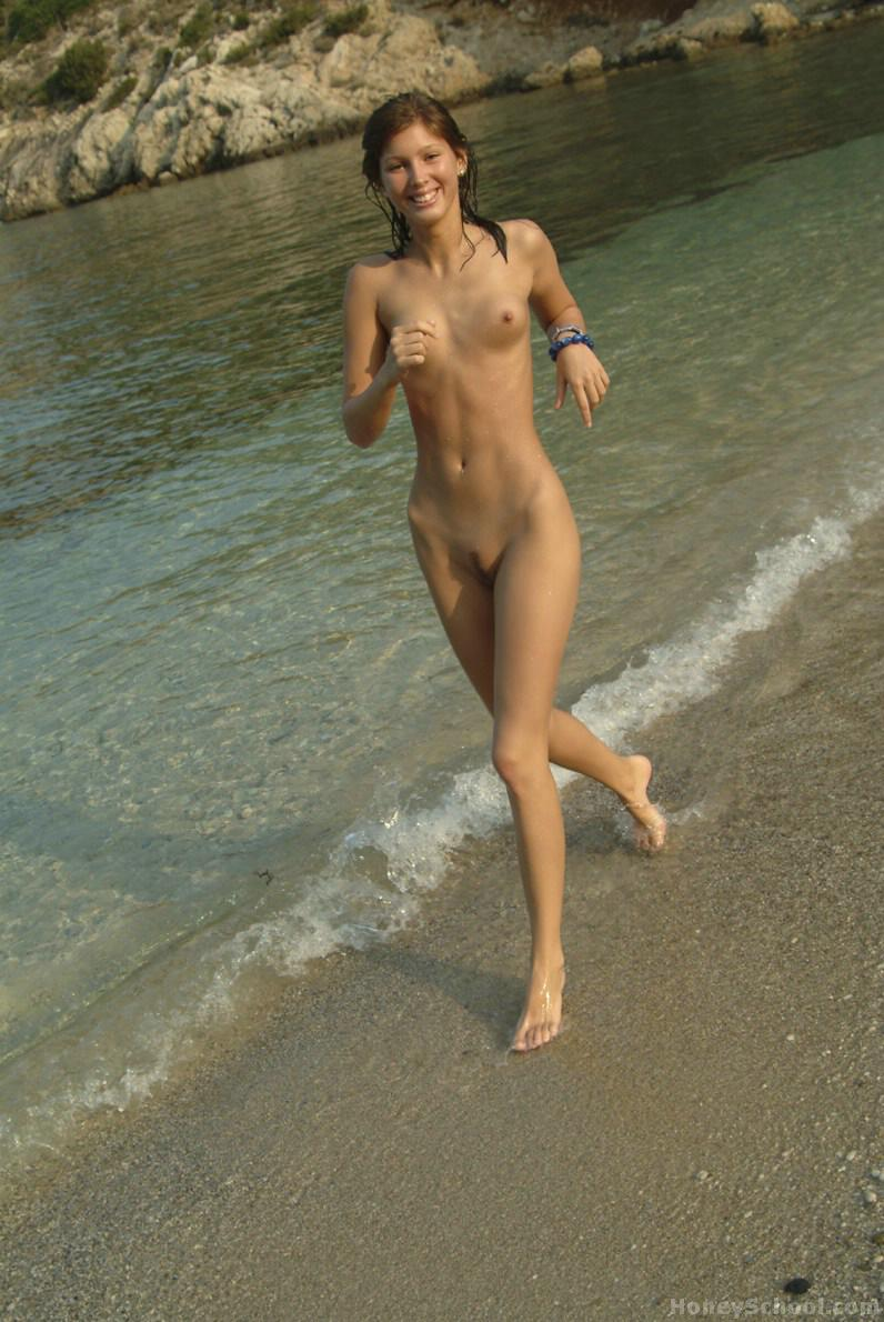 Slim nude beach