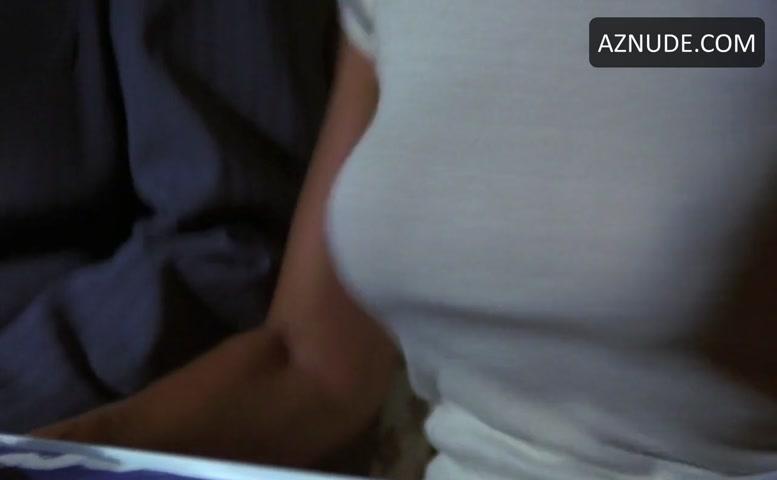 Airplane boob scene