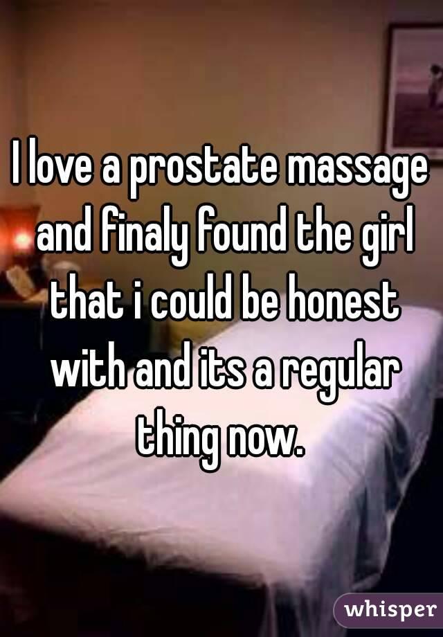 Girl prostate massage