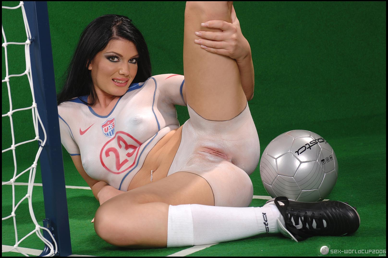 World cup soccer girls nude