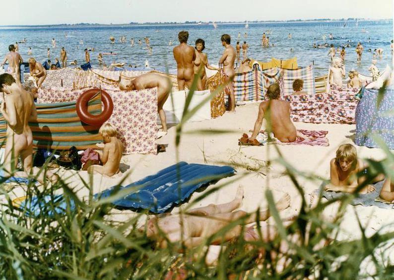 group Interracial sunbathing nude