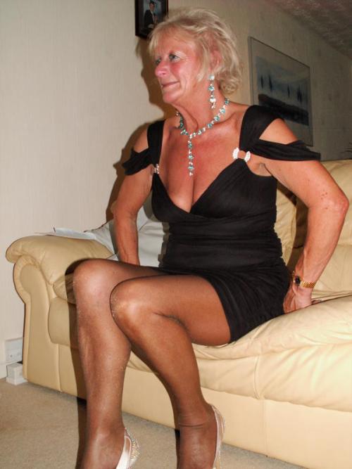 Maggie mature pantyhose