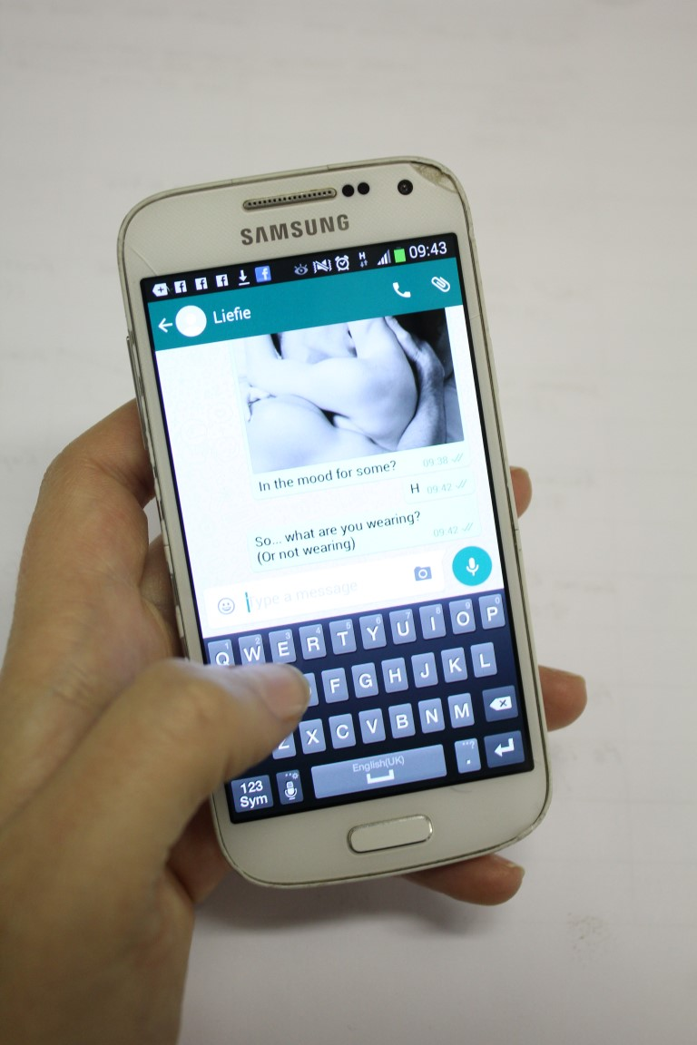 Whats app nude sexting