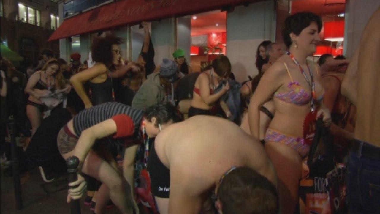 Strip off panties