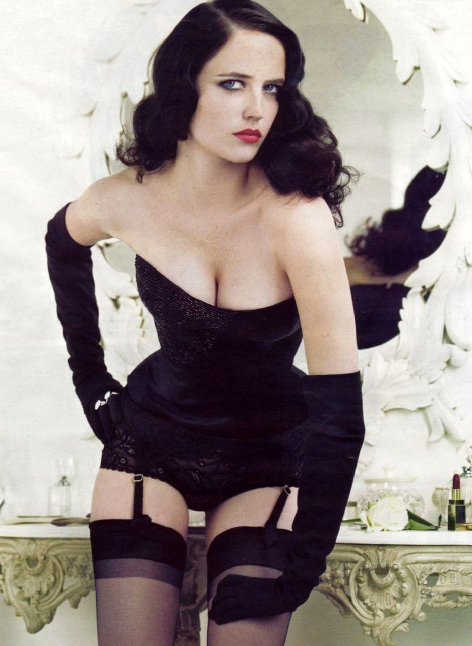 Eva green stockings