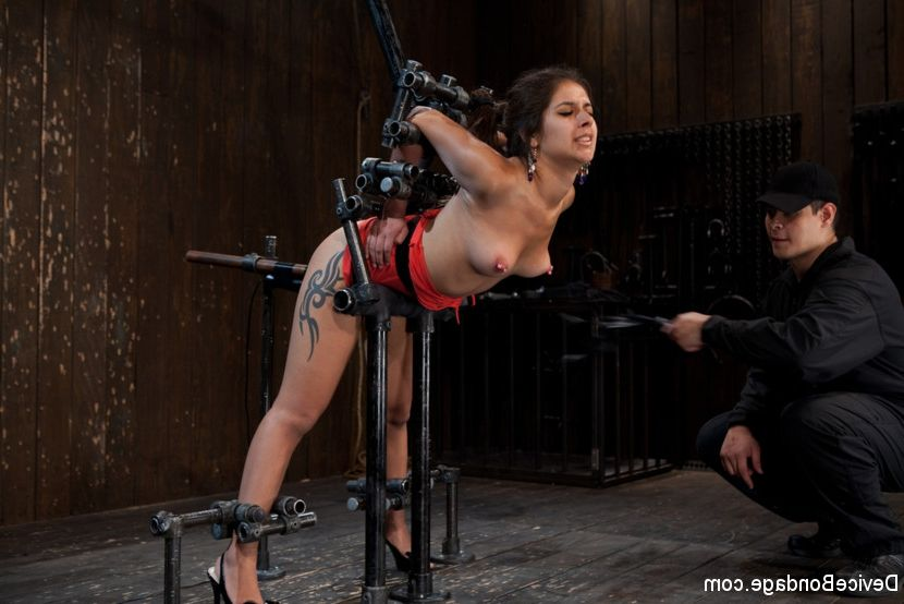 Asian girl tied up and fucked