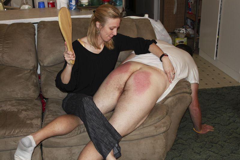 Girls spanking boys