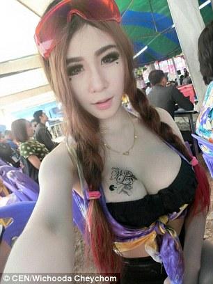Korean girls with big fake tits