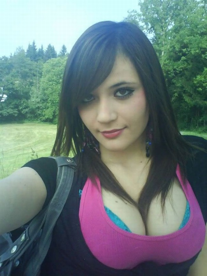 Young teen girl self shot jb