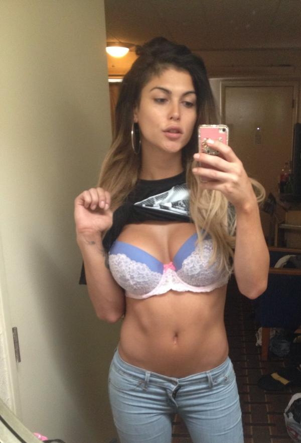 presley boobs Domino
