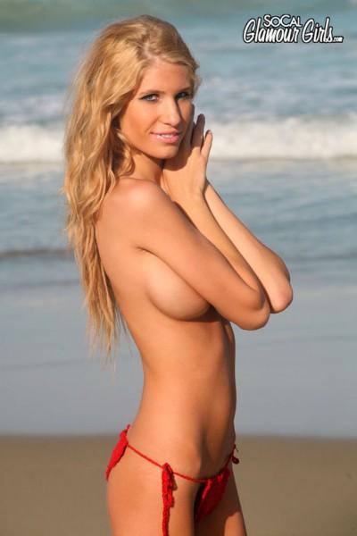 bikini model topless String