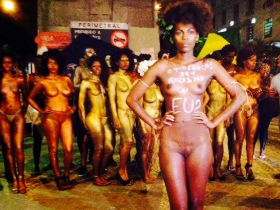 Afro brazilian girl nude