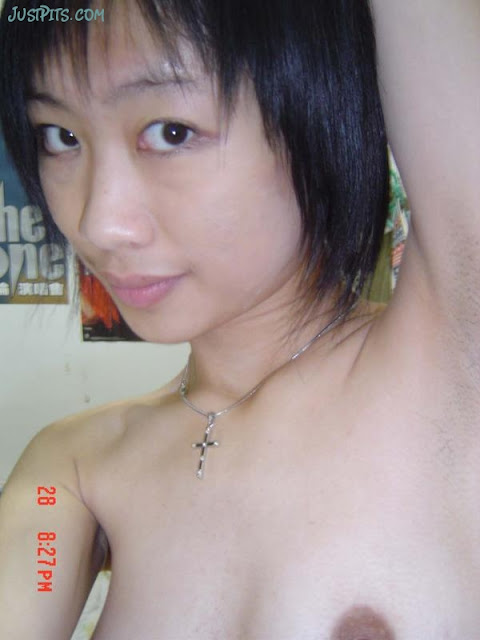 armpits hairy Nude with women