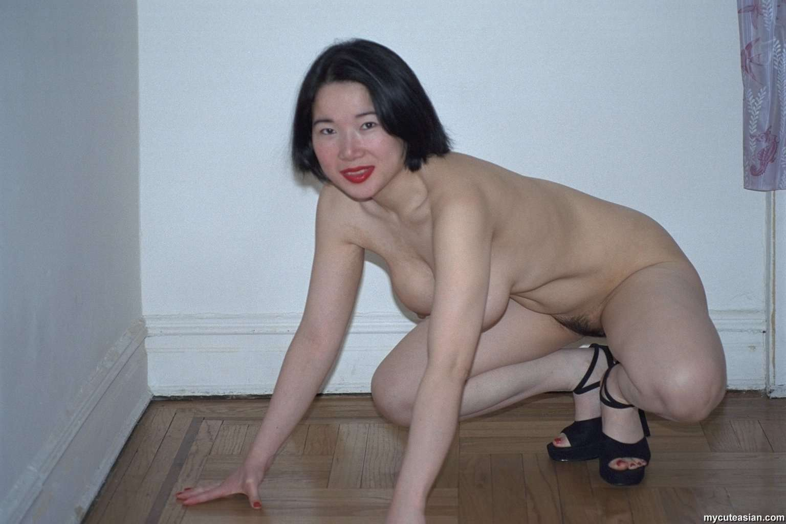 My asian wife naked