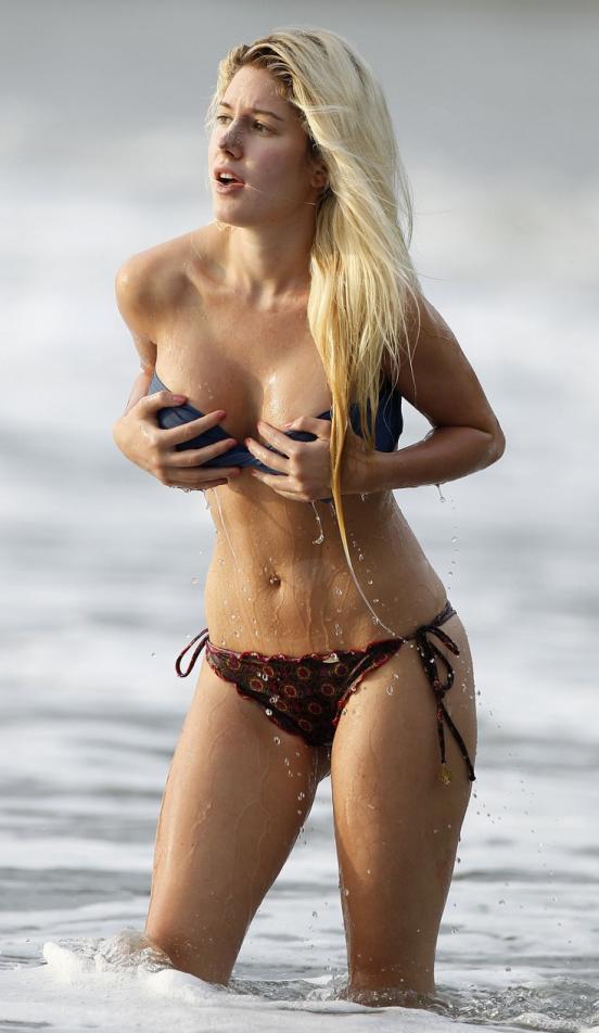 malfunction bikini Heidi montag