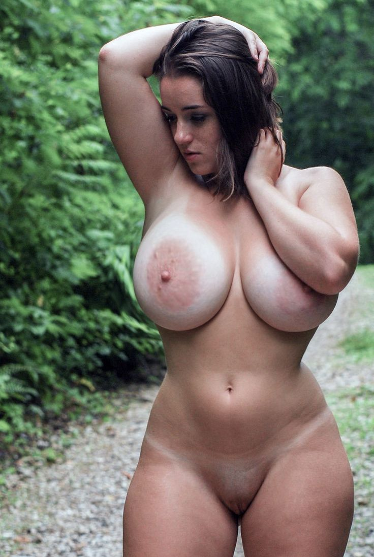 Nude women with big natural boobs